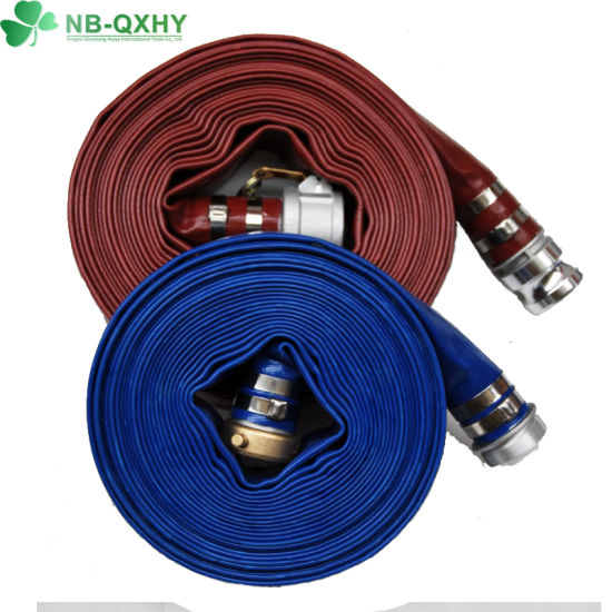 Chinese Superior Quality Agriculture Irrigation PVC Layflat Hose