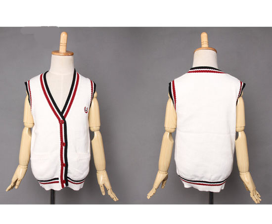 4dcc1b02d71c4 2016 Kids Knit Vest Pattern Child Sleeveless Sweater and V Neck Sweater Vest