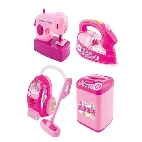 Children Pretend Kitchen Play Set Plastic Mini Home Appliance Toy pictures & photos