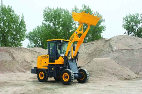 Infinitely Variable Speeds Small Wheel Loader pictures & photos