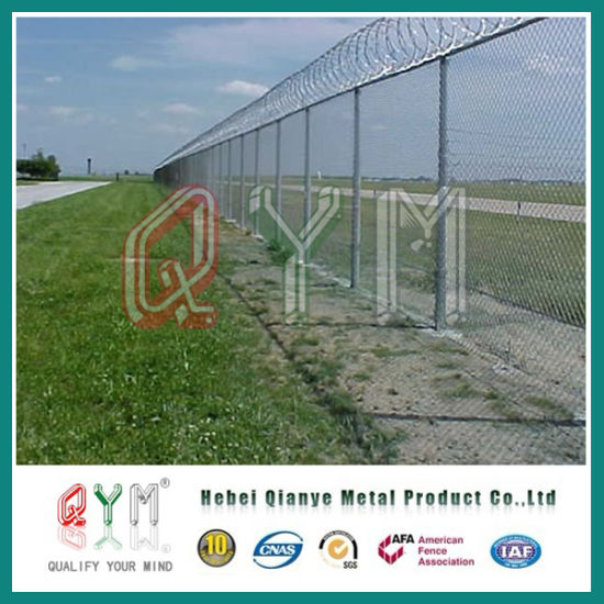 Wholesale Y-Post Fence Panle/ Airport Welded Wire Mesh Security Fence