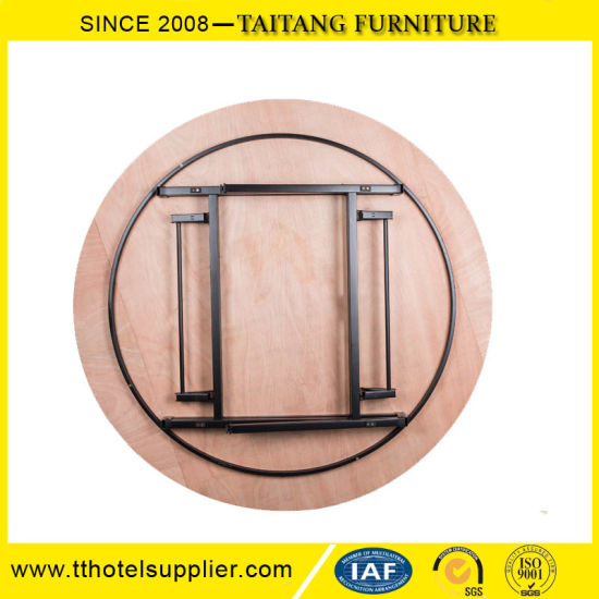 Model Hotel Round Plywood Banquet Table pictures & photos