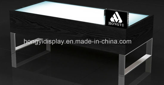 Fashion Display Table with Veneer for The Retail Shop