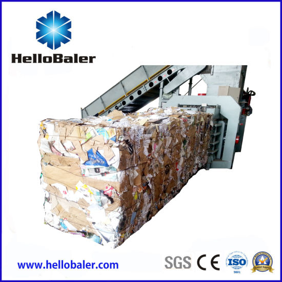 New Automatic Hydraulic Baling Press Machine for Cardboard (HFA 8-10) pictures & photos