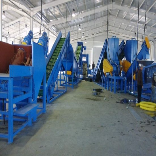 PE PP Film Recycling Machine/Plastic Recycling Plant/Pet Bottle Washing Line
