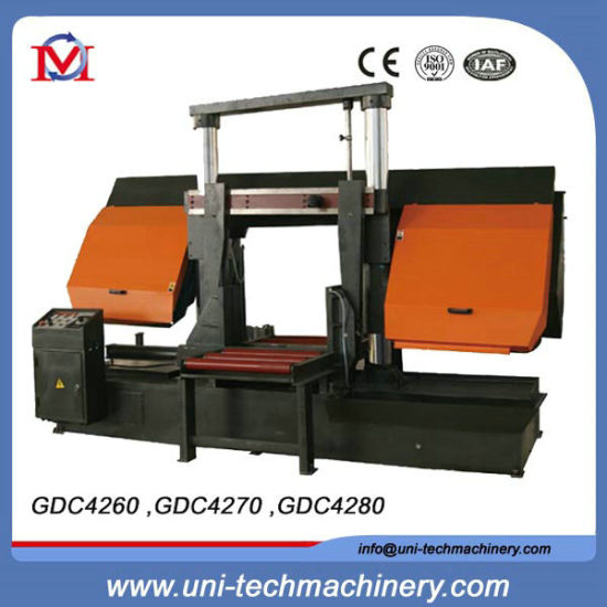 Double Column Horizontal Semi-Automatic Band Sawing Machine (GDC4270) pictures & photos