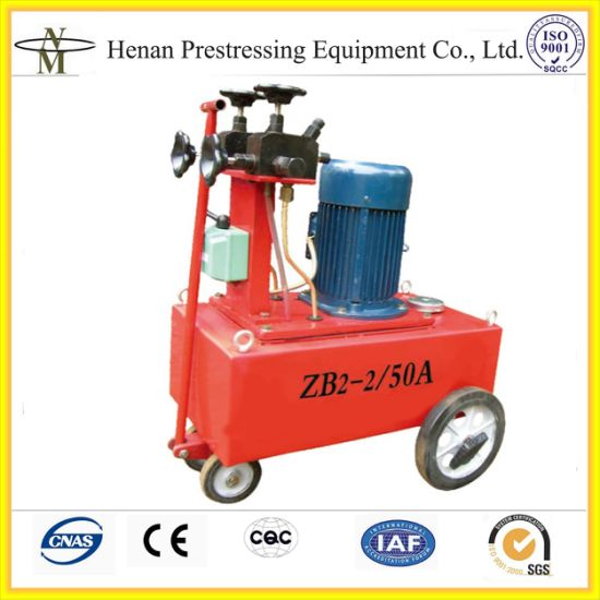 Cnm Ybz Series Electric Oil Pump for Post Tensioning