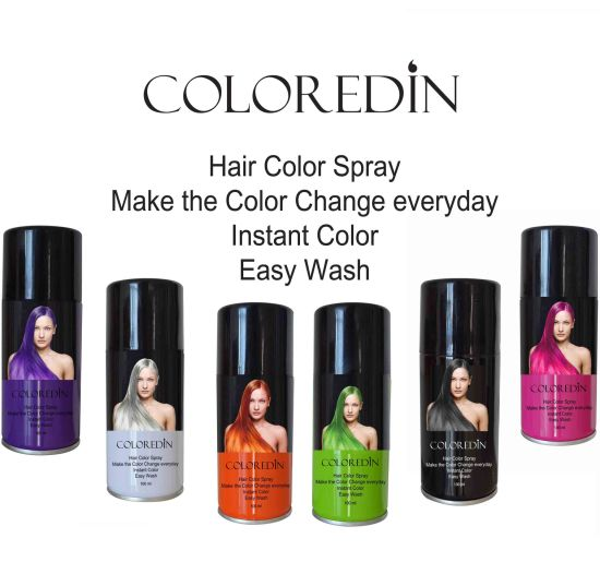 China Coloredin Hair Color Spray - China Color Spray, Hair Color