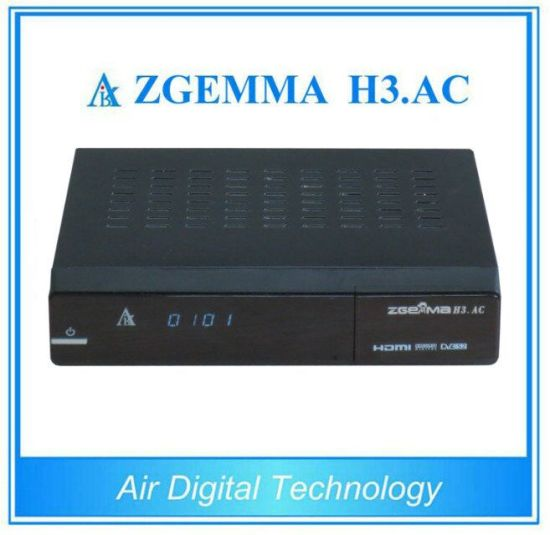 Genuine Zgemma H3. AC ATSC + IPTV Full HD 1080P Satellite Receiver pictures & photos