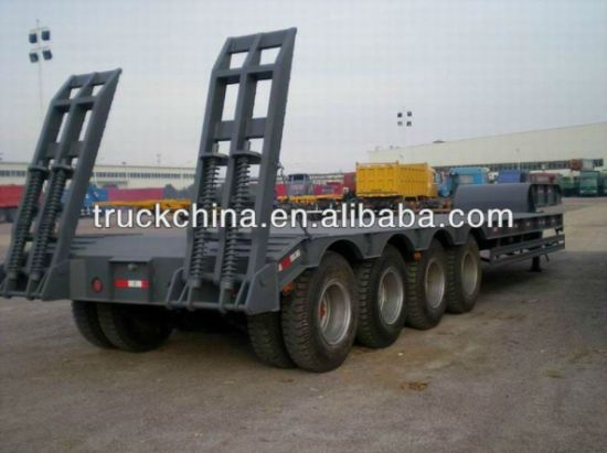 Semi Trailer Low Bed Trailer for Sale pictures & photos