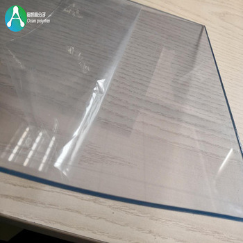 2mm 3mm Thickness Transparent PVC Rigid Sheet Board for Bending