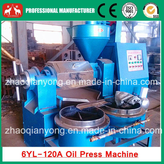 Automatic Coconut Cold Combine Oil Press with Oil Filter