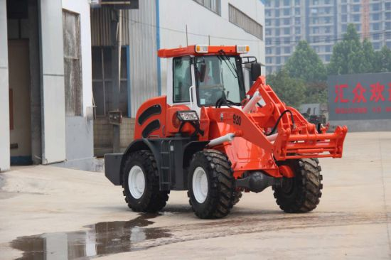 Zl920 Real 2000kg Top Quality Best Offer Wheel Loader Sale with Forklift pictures & photos