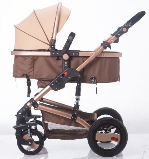 New Design European Luxury Fold Baby Pram with Ce Certificate pictures & photos