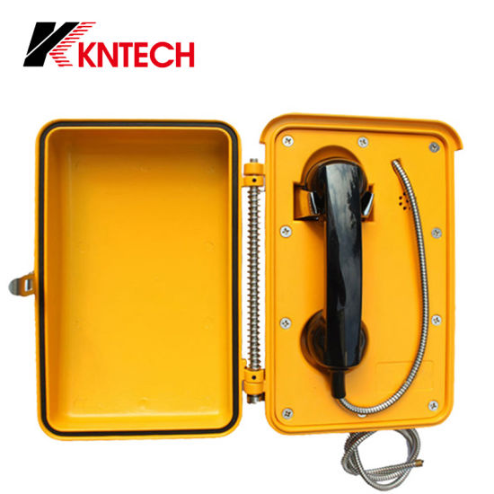 Knsp-03 Weatherproof Railway Tunnel Mining Telephone Roadside Emergency VoIP Telephone