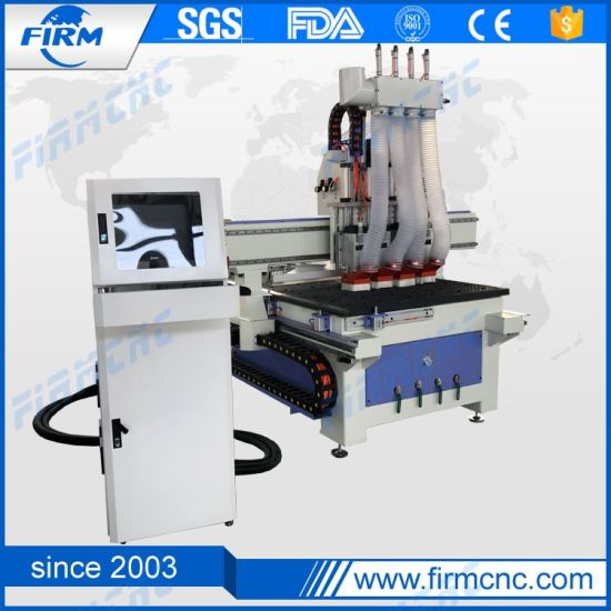 Atc CNC Router 3D Cutting Carving Machine for Furniture with Good Precision