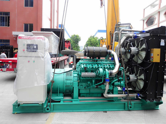China 150kw 1875kVA Power Generator Ricardo Diesel Engine
