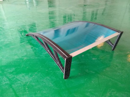 Polycarbonate Windows Awning Balcony Sun Canopy Bicycle Pedestrian Passageway pictures & photos
