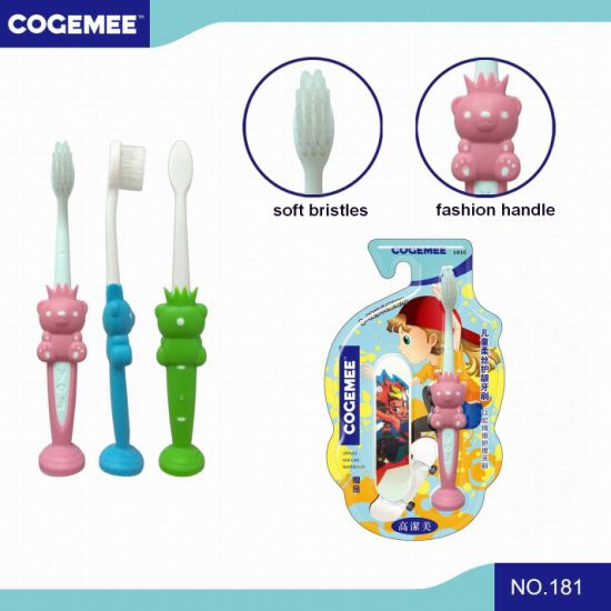 Kid/Child/Children Toothbrush with Slender & Soft Bristles, Gift Included The Pack 181