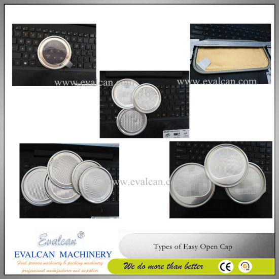 Easy Tear Plastic Peel off Cap Ends Making Machine pictures & photos