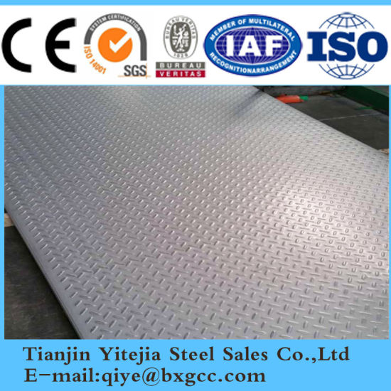 Checkered Steel Plate 304, 321, 316L pictures & photos
