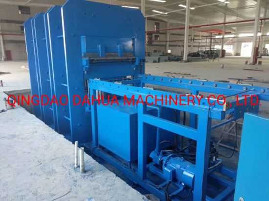 Rubber Vulcanizing Press Machine for Rubber Fender with Mold Push-out System