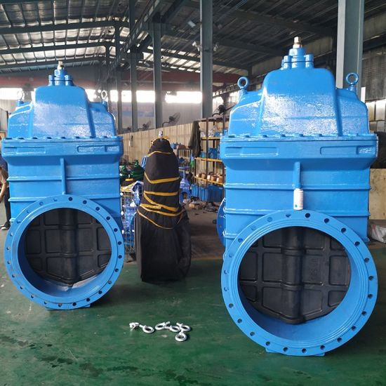 """Ce ISO Approved Cheap Price Handle Wheel Type Metal Ggg50 Ductile Iron Resilient Seated Double Flanged Water Gate Valve 10"""""""