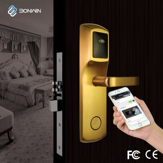 Network RF Card Lock with Over 10000 Service Times (BW823SC-C) pictures & photos
