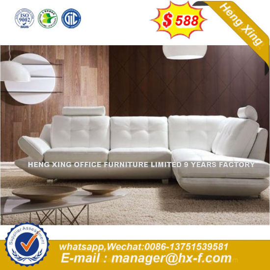 Factory Whole Price Furniture Leather Office Sofa Hx 8n2149