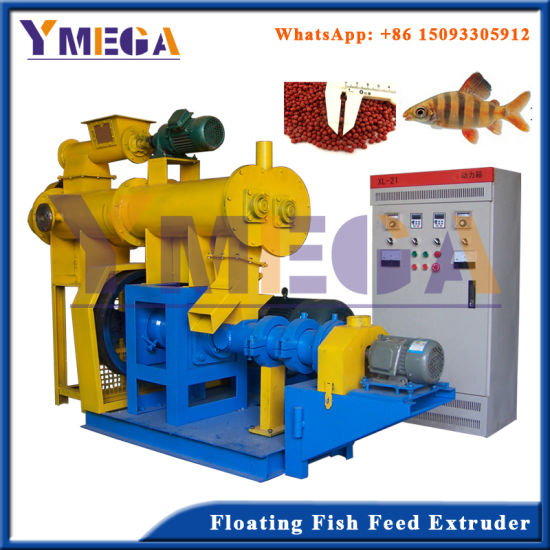 Sinking and Floating Fish Feed Milling Machine Power Feed pictures & photos