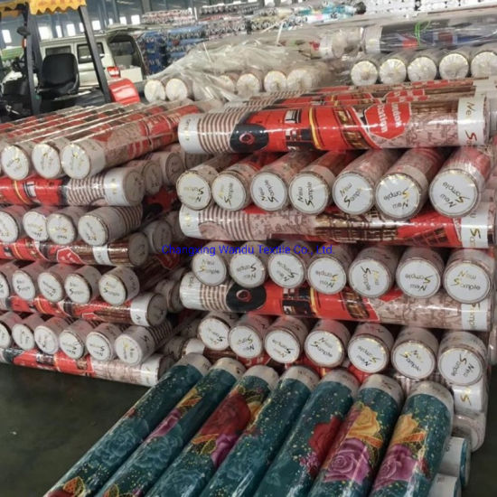 Factory 100 Polyester Microfiber Sunflower Disperse Printing Fabric for Bedsheets to Burkina Faso