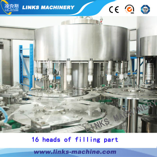 Complete Automatic Plastic Bottle Pure Drinking Water Filling Packing Machine Line pictures & photos
