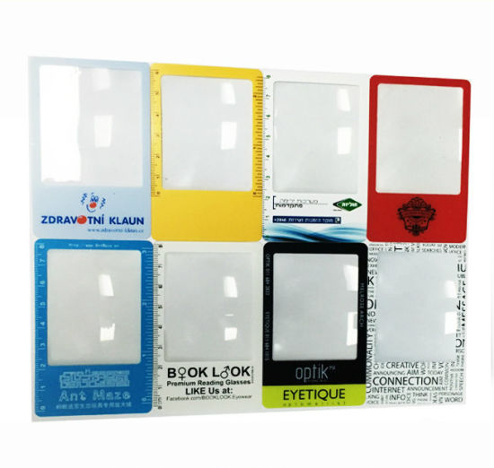Business Card Custom Logo Magnifier Glass (HW-802) pictures & photos