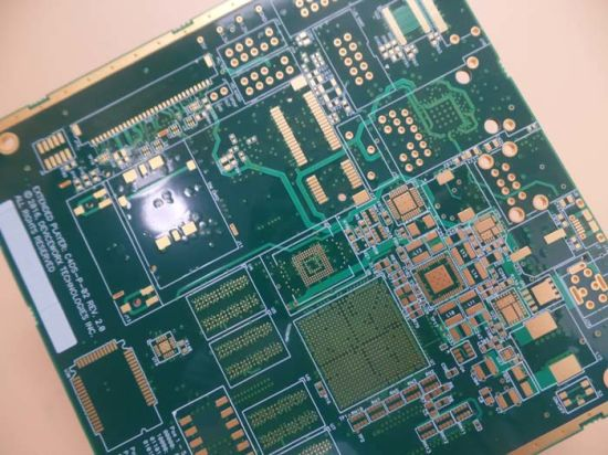 China Taconic Tla-6 0.94mm Soft Gold PCB Circuit Board Prototype PCB ...