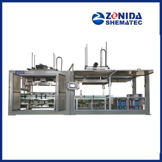 Full Auto Flexible Palletizing & Cartoning 2 in 1 Machine for Tin Can Packaging