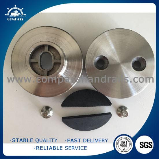 Stainless Steel Round Glass Hardware