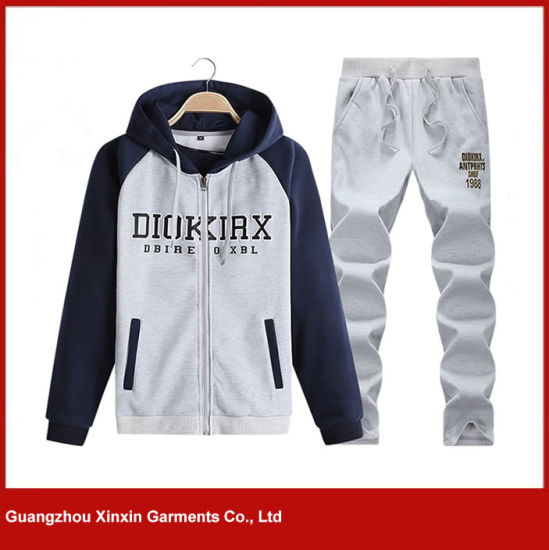 Wholesale Men′s Hoodie Suit, Outdoor Sweatshirt, Custom Sports Wear (T73) pictures & photos