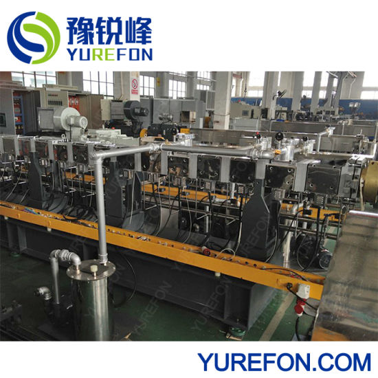 Recycled PC/Pet/PP/PE Plastic Waste Recycling Pelletizing Production Line pictures & photos
