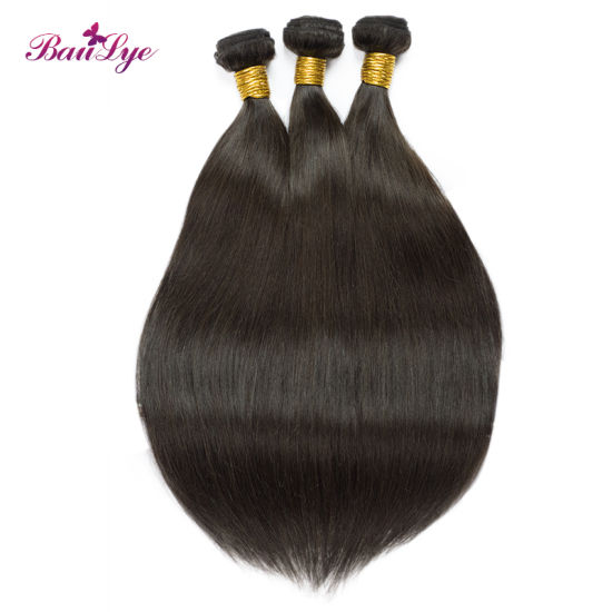 100% Unprocessed Brazilian/Indian Virgin/Remy Human Hair with #2 Color