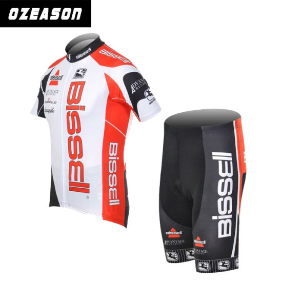 China Made Customized Men's Cycling Jersey Shirt and Pant