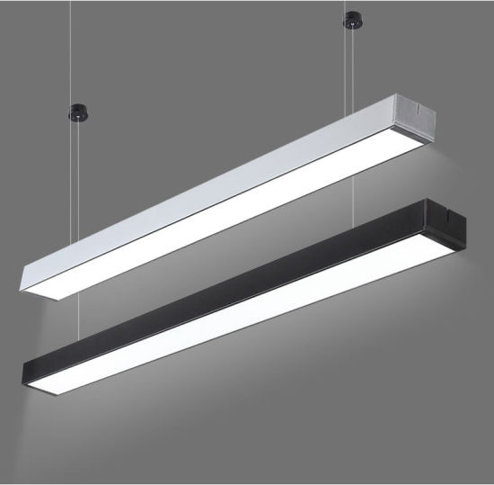 lamp office. Office Chandelier Modern LED Hanging Light Aluminum Acrylic Lamp Bar Exhibition E