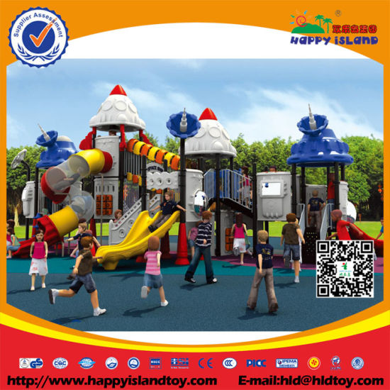 Outdoor Playground Kids Play Equipment Slides