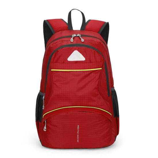 56e3a6ba09c Hot Sell Custom Travel Kids Sports Backpack Hiking Backpack Size School Bag  Polyester Bag