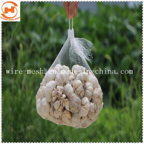 Plastic Garlic Packaging Mesh/ Net Bag