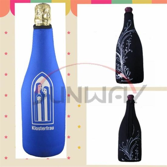 Hot Sell Neoprene Champagne Bottle Holder, Wine Bottle Cooler (BC0064) pictures & photos