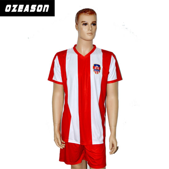 High Quality Breathable Basketball Jersey Men's Soccer Uniform