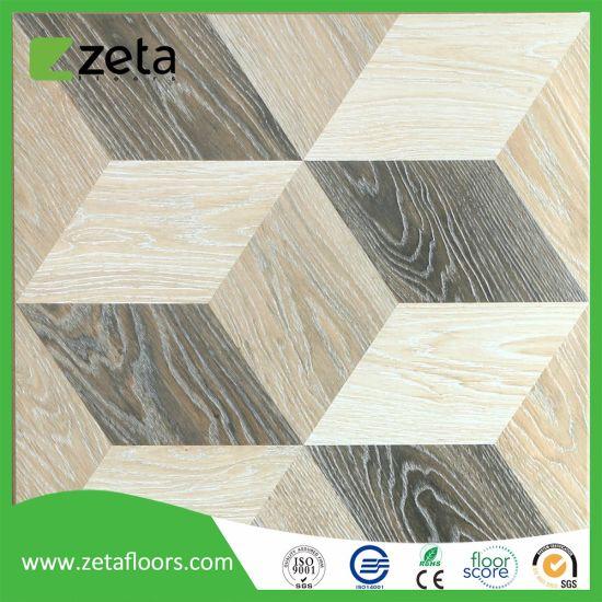 New Pattern 3D Laminate Flooring Tiles with AC3 Waterproof