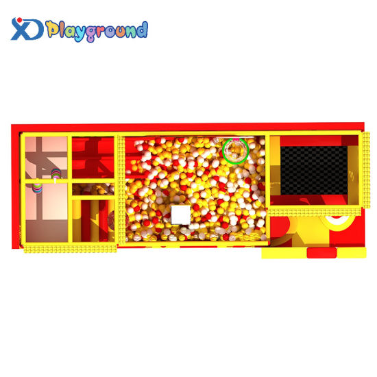 Small Amusement Children Indoor Playground Equipment for Home