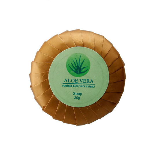 35g Round Shape with Printed label Hotel Soap to Italy