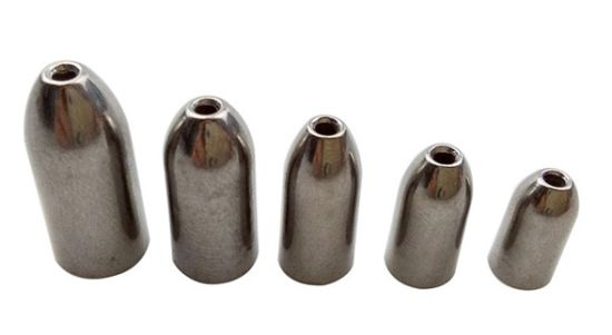 Wholesale Tungsten Worm Weight Bullet and Fishing Sinker pictures & photos